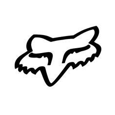 Fox Racing kopf Vinyl Aufkleber Reflektierende aufkleber Skate Surf Schnee Roller BMX Motocross motorräder Auto-lkw-autofenster