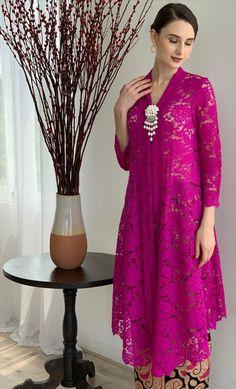 Kebaya Lace, Kebaya Hijab, Kebaya Brokat, Batik Kebaya, Kebaya Dress, Dress Pesta, Dress Muslim Modern, Dress Brokat Modern, Kebaya Modern Dress