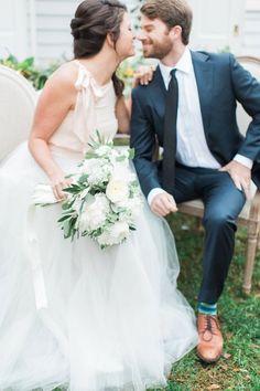 Romantic Blush Virginia Wedding Inspiration Shoot - MODwedding