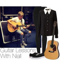 Niall~#22 by lauren-12-pyd on Polyvore featuring Orla Kiely, Topshop and Vans
