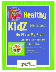 This  lesson provides students with an overview of the five major food groups defined by MyPlate - fruits, vegetables, dairy, grains and proteins. Students will track their their eating for 5 days through an in class activity where students record their lunch by coloring food group sections on a plate diagram.