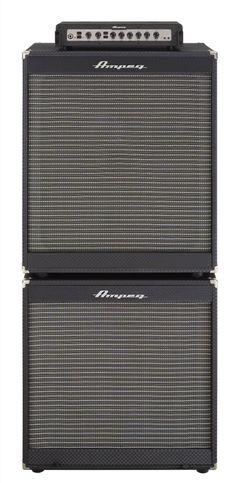 Ampeg Portaflex Head and Dual Cabinet Bass Amplifier Stack