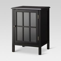 Media Component TV Stand Black Audio Stereo Cabinet Storage Shelves Glass  Doors | Pinterest | Stereo Cabinet, Cabinet Storage And Storage Shelves