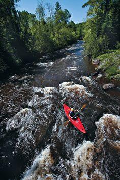 Kayaking the Bois Brule River