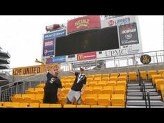 Pittsburgh Steeler Time - Gangnam Style REMIX by Mikey and Big Bob   OMG this is funny...except for the fat flying!