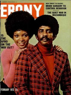 Ebony magazine, February 1973 — Is the Afro on the Way Out? Jet Magazine, Black Magazine, Ebony Magazine Cover, Magazine Covers, Afro, History Posters, History Facts, Cities, Vintage Black Glamour