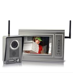 Metal Guardian - 7 Inch Screen Wireless Video Door Phone with LED Night Vision