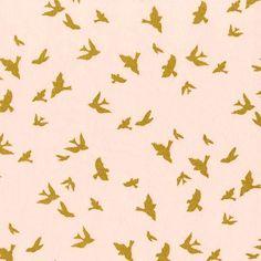 gouden vogels @bambiblauw