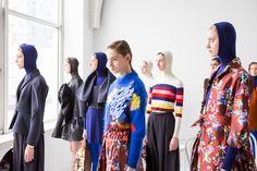 Delpozo Fall 2017 Fashion Show Backstage - The Impression