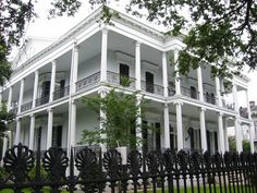 Historic Mansions In New Orleans | www.kiang.org / photos /new_orleans/