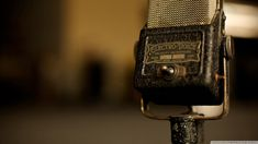 Download Vintage Microphone Wallpaper 1920x1080 | Wallpoper #446662
