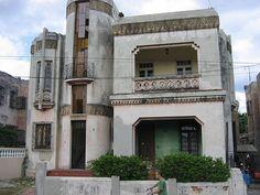 Art Deco Home house, havana, cuba #artdeco #cuba | art deco homes | pinterest