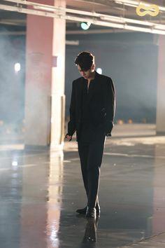 Myungie in black Cunning Single Lady, L Infinite, Lee Sungyeol, Master's Sun, Kim Sung Kyu, Nam Woo Hyun, Kim Myung Soo, Myungsoo, Woollim Entertainment