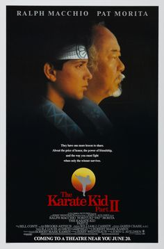 TIL the first scene in Karate Kid II where Sensei John Kreese breaks Johnny Lawrence' place trophy was actually supposed to be the last scene in the first movie. The Karate Kid 1984, Karate Kid Movie, Karate Kid Cobra Kai, 80s Movie Posters, Movie Poster Art, Quarantine Movie, Classic 80s Movies, Kids Part, Ralph Macchio
