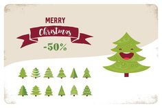 Christmas TREE set- 50% off  @photoshoplady