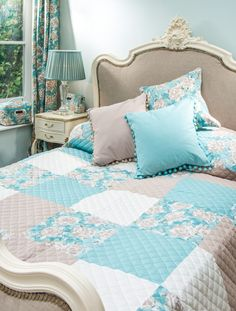 New summer cushions and bedding from Ragged Rose. www.raggedrose.com