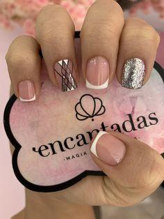 Glam Nails, My Nails, Precious Nails, French Tip Nails, Nail Designs, Nail Art, Designed Nails, Cute Nails, Polish Nails