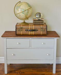 Treasure Hunt Thursday !!! Bebe'!!! Globe and vintage suitcase!!!