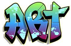 create custom graffiti images (8th grade)