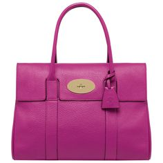 Too rich for my blood, but this is an amazing Mulberry Bayswater bag in fuchia $1250