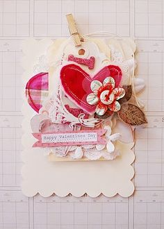 I will make cute cards like this one.