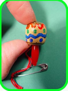 Mexican Mini Maraca  - Thinking Day    These cute little mini-maracas are perfect for Thinking Day, and look just like the real thing, just a *little*
