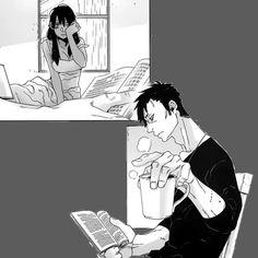 "Manga ""Gangsta"", Alex and Nicolas"