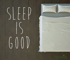 "Sleep is good: ""The Dream Diet: Losing Weight While You Sleep"" #Original"