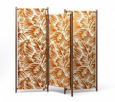 """Folding screen """"LES NÉCESSAIRES D'HERMÈS"""", Hermès."""