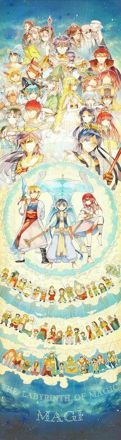 Magi characters, cool; Magi