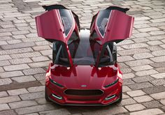 The Ford Evos concept - the inspiration for the new Fusion.