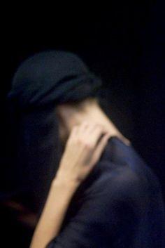 Blue - Backstage at Giorgio Armani Spring/Summer 2011