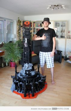Lego Sauron - Impressive Sauron from The Lord of the Rings built from Lego.