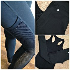 Fabulous black Fabletics outfit via A Lady Goes West #workout #fitness #Fabletics