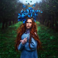 Contos de fadas cobram vida em fotos mágicas de fotógrafa russa 04