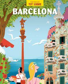 "VIDAL, Jaume. ""Barcelona"". Barcelona : Norma, 2014. (Col·lecció tot sobre ; 2).  ISBN 9788467915839 CDU:I91(46.71) Barcelona, Tourism Poster, Travel Illustration, Vintage Travel Posters, Gaudi, Belle Photo, Cute Wallpapers, Poster Prints, Photos"