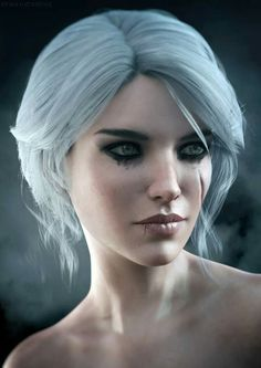 Ciri The Witcher 3 Fanart by Lehira-Rutherford The Witcher Geralt, Witcher Art, Girl Drawing Images, Character Inspiration, Character Art, The Witcher Game, Wild Hunt, Medieval Fantasy, Fantasy Girl