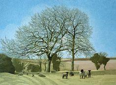 Annie Ovenden-Sheep Grazing in Berryfield