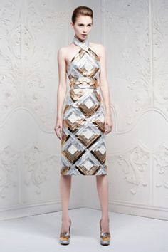 WOW! Alexander McQueen Resort 2013 Collection on Style.com: Complete Collection