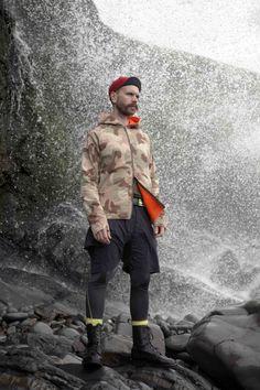 Griffin Mesh Hoodie Camo - £275 #griffin #griffinstudio #fashion #menswear #sportswear #mesh #hoodie #camo #orange #lovelife #lovesummer #ss14