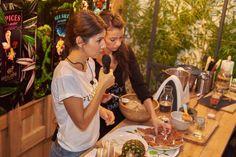 """Să gătim sănătos şi uşor"" cu Tania Bordianu - #workshop #rawvegan Raw Vegan, Workshop, Atelier, Work Shop Garage, Leaf Vegetable"
