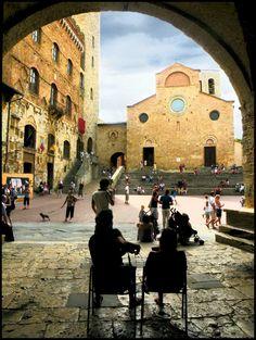 Collegiata, San Gimignano, Italy