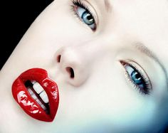 Red Lips! (Makeup by Francesca Tolot for Cloutier Remix)