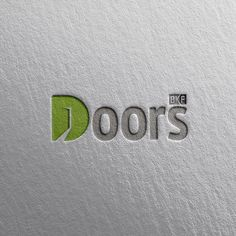 Logo Design, Graphic Design, Typography, Letters, Doors, Instagram, Letterpress, Letterpress Printing, Letter