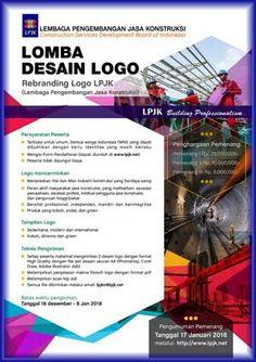 #Sayembara #Lomba #Desain #Rebranding #Logo #LPJK #LPJKN Lomba Desain Logo LPJK 2018 Berhadiah Total 40 Juta Rupiah  DEADLINE: 8 Januari 2018  http://infosayembara.com/info-lomba.php?judul=lomba-desain-logo-lpjk-2018-berhadiah-total-40-juta-rupiah