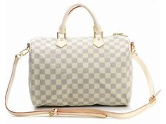 Louis Vuitton M40391 Damier Canvas Speedy 30 Travel Bag  How nice and cheap! You deserve to own it! A New Year Gift - a favorite handbag!  Tag:Discount Louis Vuitton travel bags, Cheap Louis Vuitton travel bags New Arrival, Original Louis Vuitton travel bags outlet
