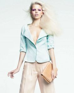 Harpers Bazaar Editorial October 2012 - Daphne Groeneveld by Nathaniel Goldberg