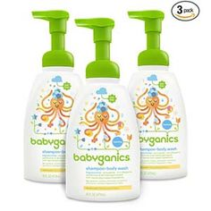 Babyganics Baby Shampoo + Body Wash Pump Bottle, Fragrance Free, 3 Pack, Packaging May Vary Amazon Subscribe And Save, Baby Skin Care, Baby Care, Baby Soap, Perfume, Thing 1, Baby Shampoo, Baby Supplies, Free Baby Stuff