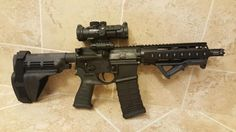 Custom 300 blackout pistol, 7.5 inch barrel
