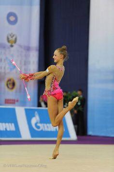 The Swan of rhythmic gymnastics <3